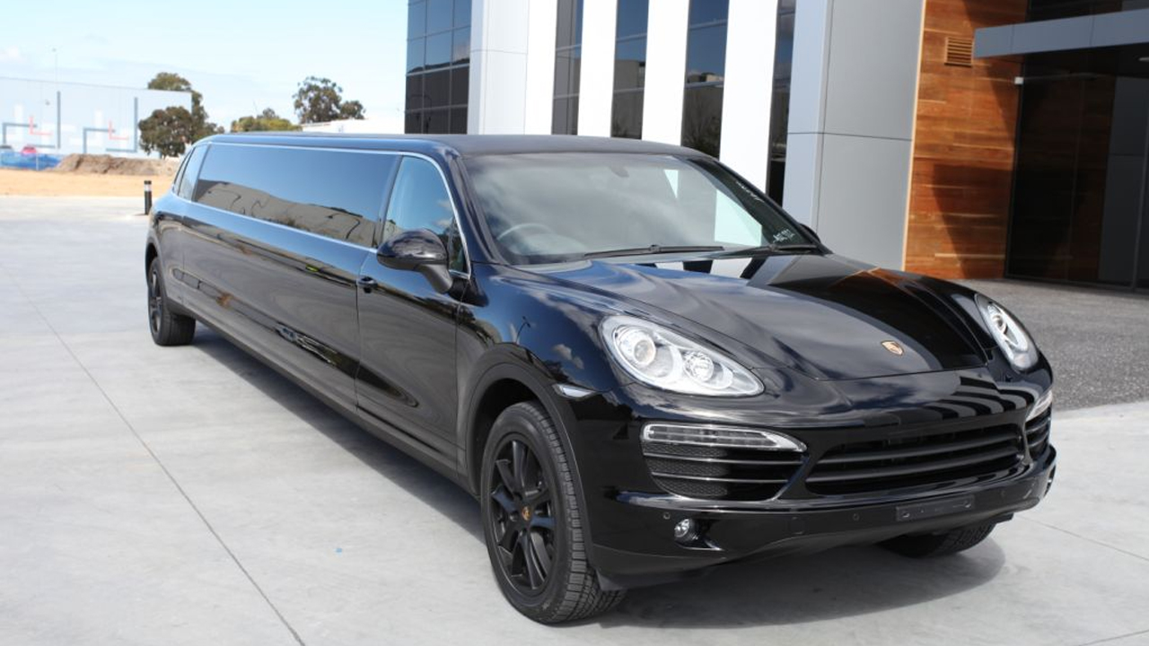 Dream Limousines 12 Seat Stretched Porsche Cayenne Limousine